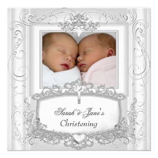 twins baptism invites