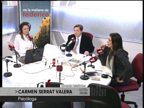 Federico y Silvia Jato comentan con Carmen Serrat Valera, autora de Solos tú y yo otra vez, el síndrome del nido vacío.