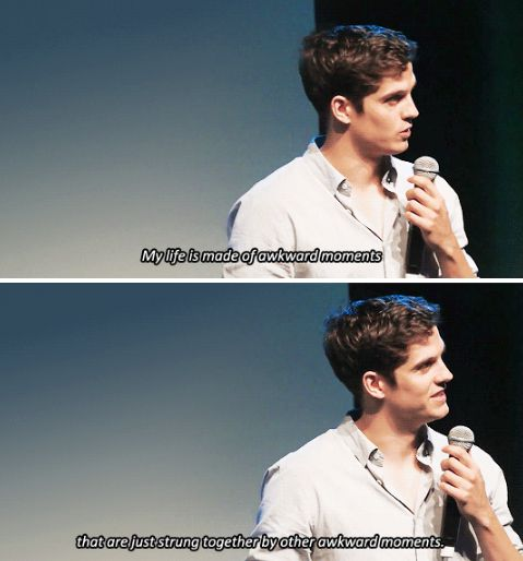 Daniel Sharman  at WereWolfCon - Brussels