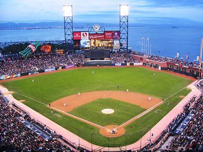 AT&T; Park, San Francisco, CA. Home of the 2010 World Champion San Francisco Giants :)