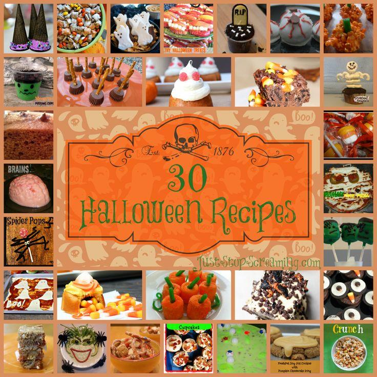 30 Frighteningly Fun Halloween Recipes   #halloween #recipes #Cooking