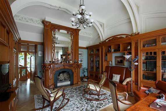 Art Nouveau Living Room Design Ideas Image 456