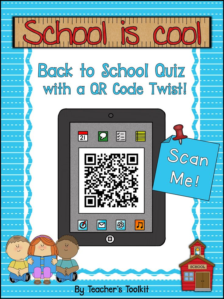 Back To School Quiz With A #QR Code Twist!  http://www.teacherspayteachers.com/Product/Freebie-Back-To-School-Quiz-With-A-QR-Code-Twist-728835