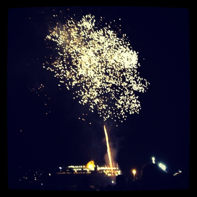 Celebration of 15th of August in Paros island Greece.