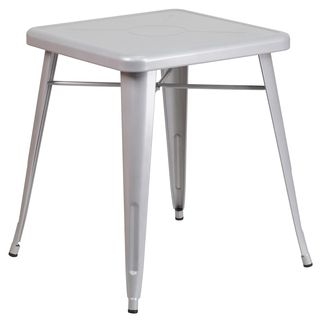Square Metal Table   Overstock.com Shopping - The Best Deals on Dining Tables