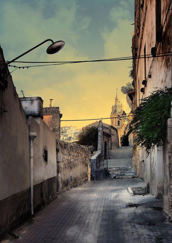 Walking in Modica - modica, Ragusa