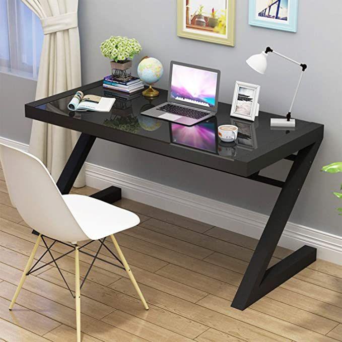Modern Homeoffice Computer Desk: Z Shape Computer Desk Modern