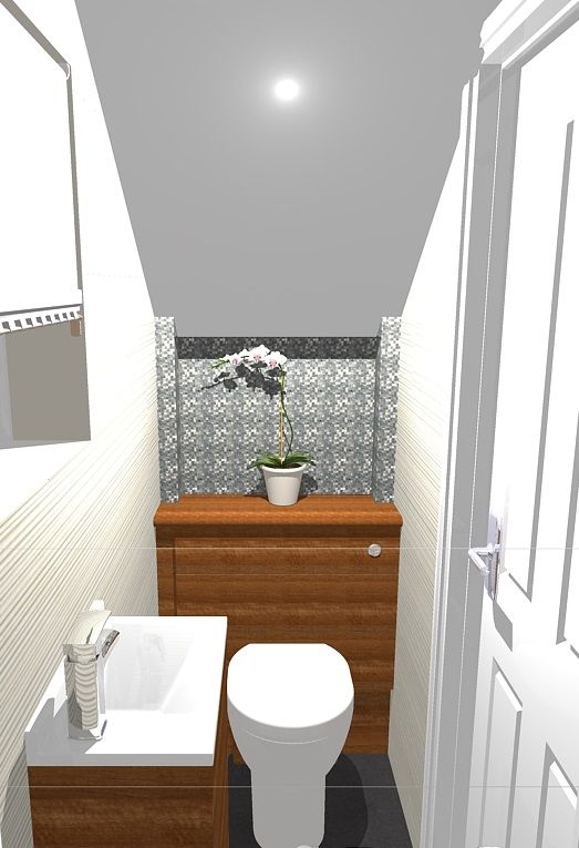 Best Understairs Cloakroom Design Bathroom Under Stairs 640 x 480