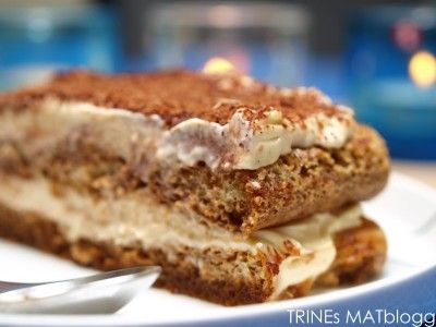Tiramisu - en dessertfavoritt - TRINEs MATblogg