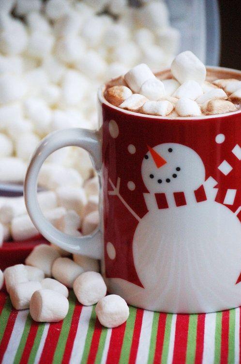 Hot chocolate...