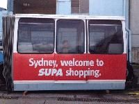 The monorail of Sydney is for sale