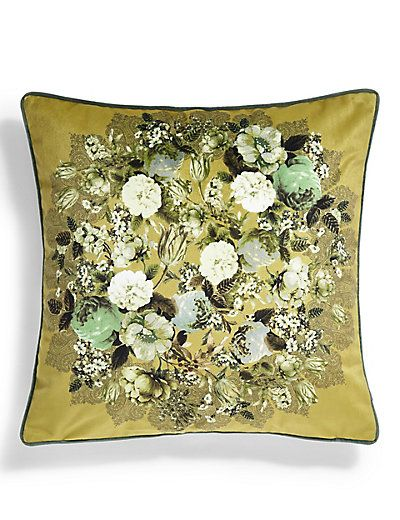 Floral Penny Cushion from M&S