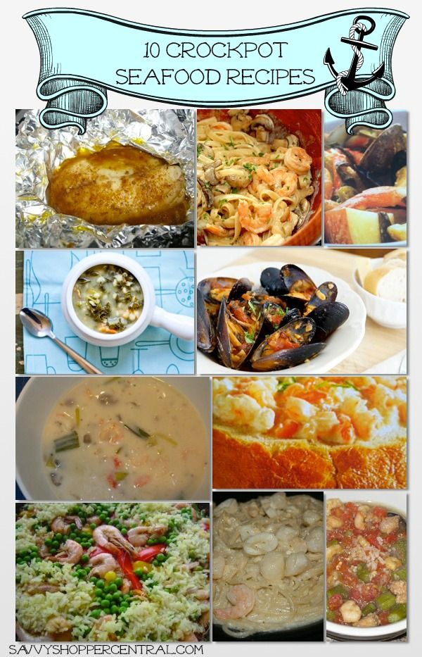 Crockpot seafood recipes the internet stew and in love for Crock pot fish stew