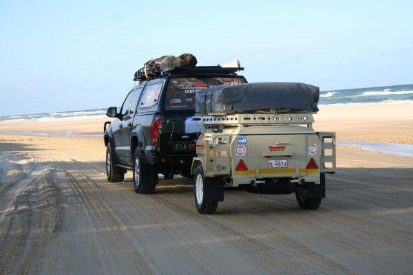 Venter Trailer off road