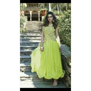 MF gown  green