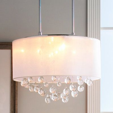 Honeycomb Modern Dome Pendant Drum Shade Chandelierglass