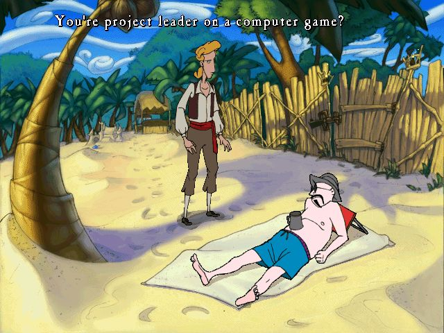 Curse of Monkey Island Quote