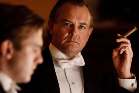 """Hugh Bonneville as Lord Grantham in """"Downton Abbey"""" - all I can say is, """"There will always be an England!"""""""