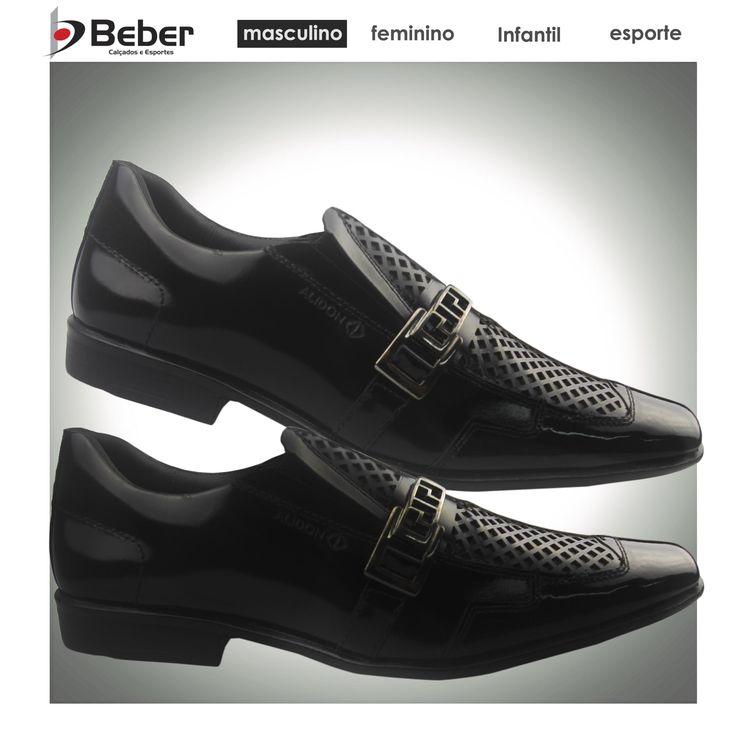 Para homens que procuram conforto, qualidade e sofisticação, o Sapato Social Alidon é o modelo ideal! Confeccionado em verniz, ele tem palmilha e forração em sintético, proporcionando muito conforto aos seus pés. Tem também solado de borracha, o que te dá muita segurança ao caminhar. Ele te deixa com um visual moderno e arrojado. Ideal para o dia a dia. https://www.facebook.com/lojasbeber https://plus.google.com/u/0/108895303695321285235/posts