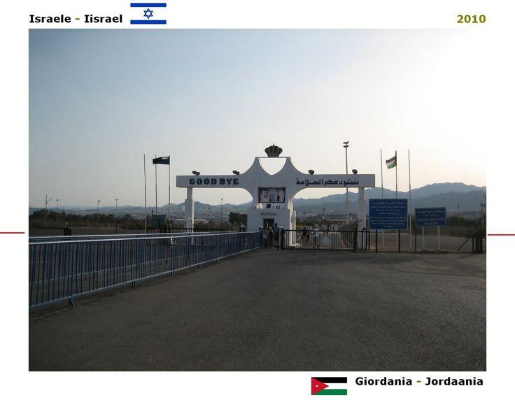 Confini amministrativi - Riigipiirid - Political borders - 国境 - 边界: 2010 IL-JO Iisrael-Jordaania Israele-Giordania