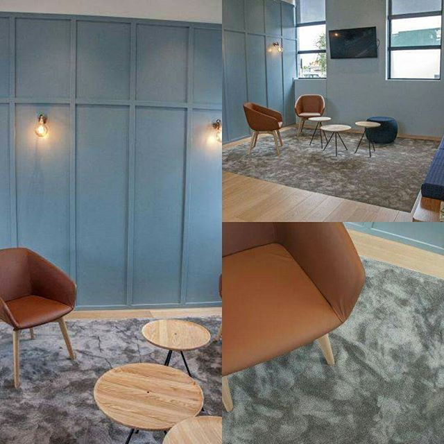 Looking for a little something to jazz up your waiting room?  We might just have the solution. Lano Satin Nylon - Colour: Moonshine #carpet #carpetnylon #carpetinsert #denatlstudiodecor #commercial #interior