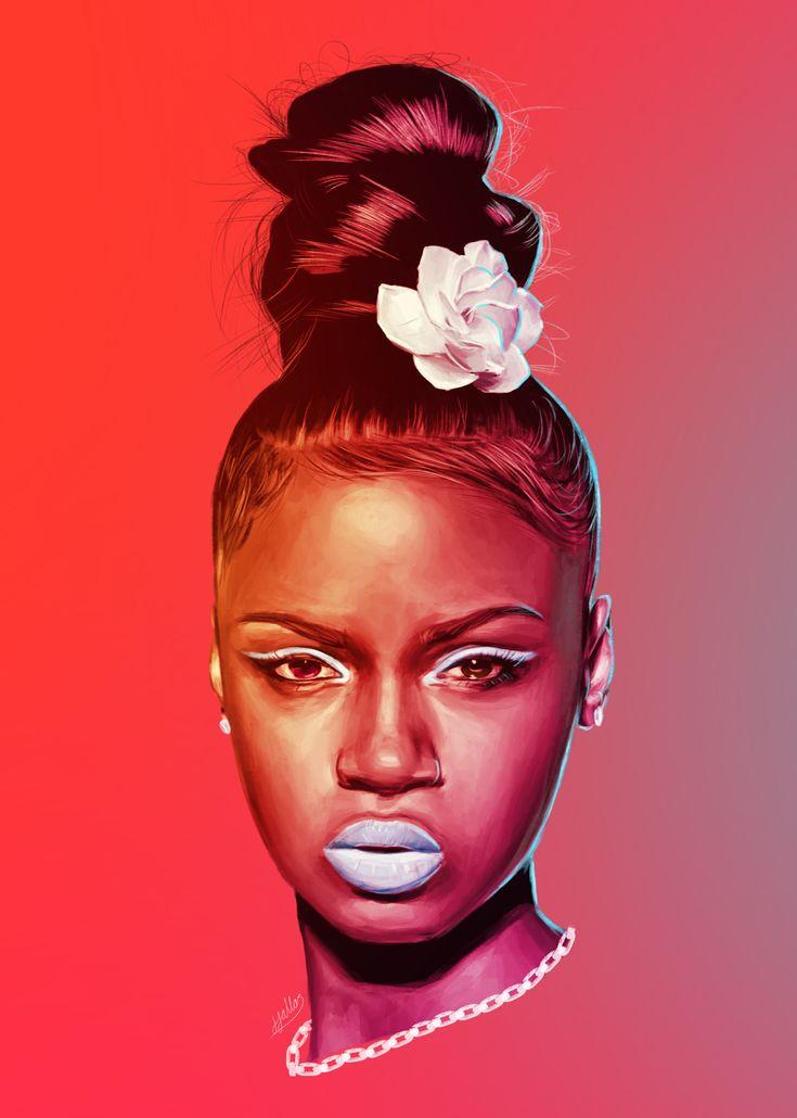nøgen kunst afrikanske piger