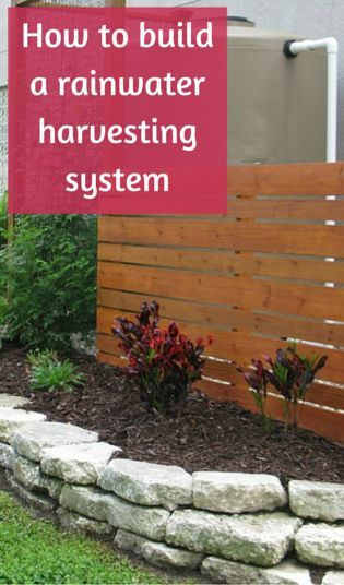 17 best images about rain water harvesting on pinterest for Build a rainwater collection system