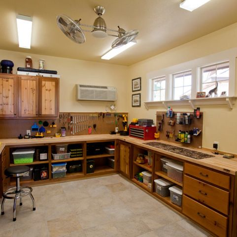 Garage Shop Design Ideas, Pictures, Remodel and Decor
