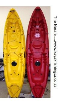 The Nessy double Kayak. New Kayak Proudly manufactured in South Africa