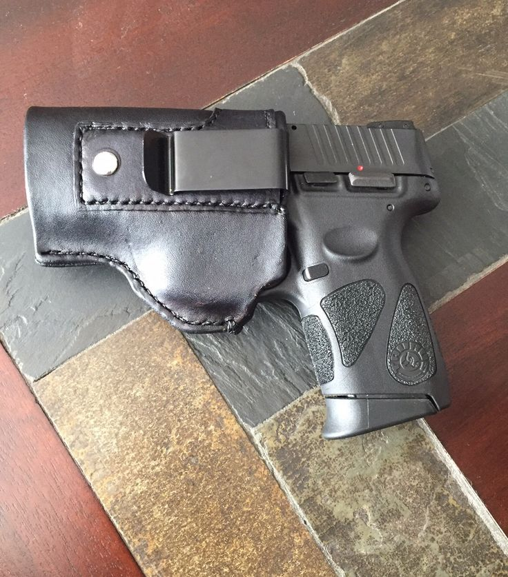 100 % Genuine Leather gun holster for Taurus PT111 Millennium G2 9mm or .40 right or left handed concealed carry inside the waistband (IWB) by LoyaltyLeatherWorks on Etsy https://www.etsy.com/listing/266142656/100-genuine-leather-gun-holster-for