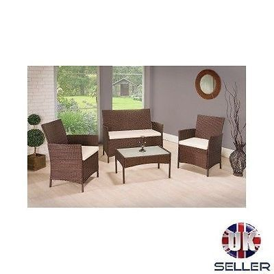 #Rattan garden #furniture set outdoor 2 armchairs chairs sofa #coffee table wicke,  View more on the LINK: http://www.zeppy.io/product/gb/2/121938389666/