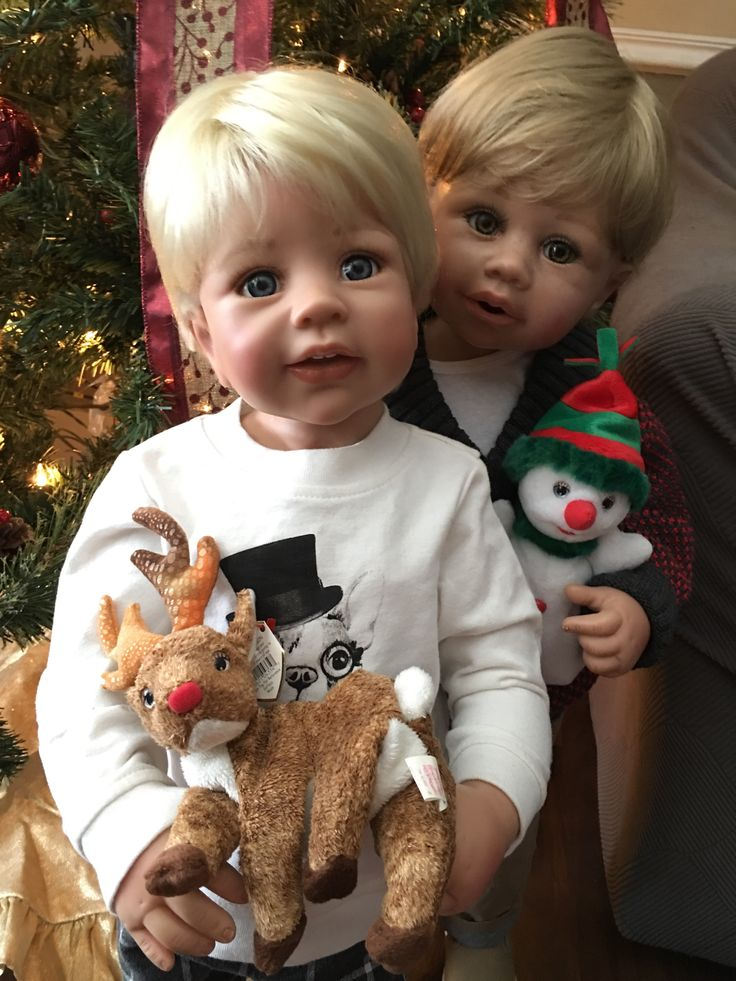 Masterpiece dolls Poldi and Jayden