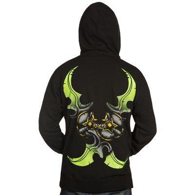 World of Warcraft Crossed Warglaives Zip-Up Hoodie