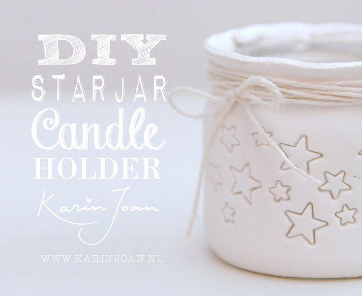 Karin Joan: Zelfmaak Stars Candlesticks