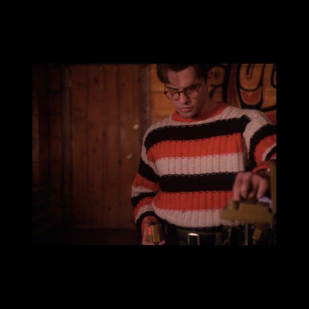 22. A Thick Stripe Pullover