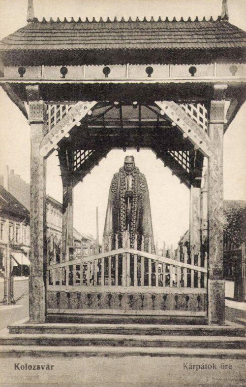 Kolozsvár,Kárpátok őre,1917-ben.