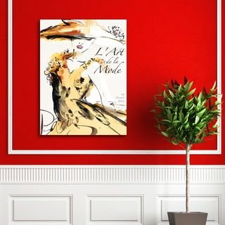 Frank Parson 'Collections 20 Julliet 1952' Canvas Print Wall Art - 19399487 - Overstock.com Shopping - The Best Prices on Portfolio Canvas Décor Gallery Wrapped Canvas