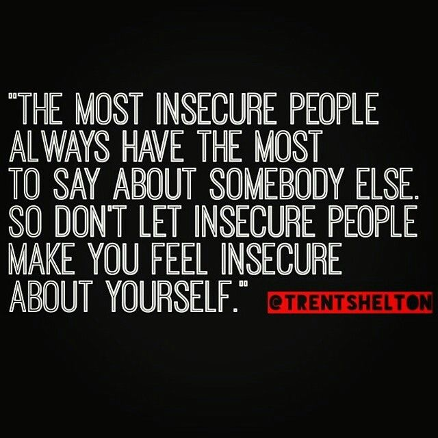Quotes about feeling insecure in a relationship