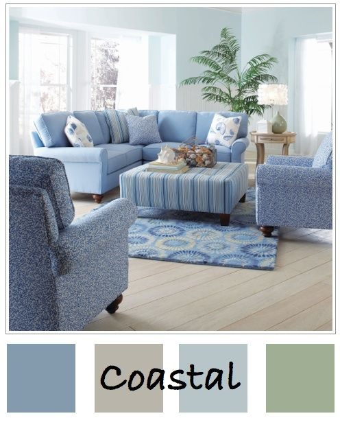 coastal cottage decorating color pallet | Great Color Palettes for the Waltonwood Senior Living Community in ...