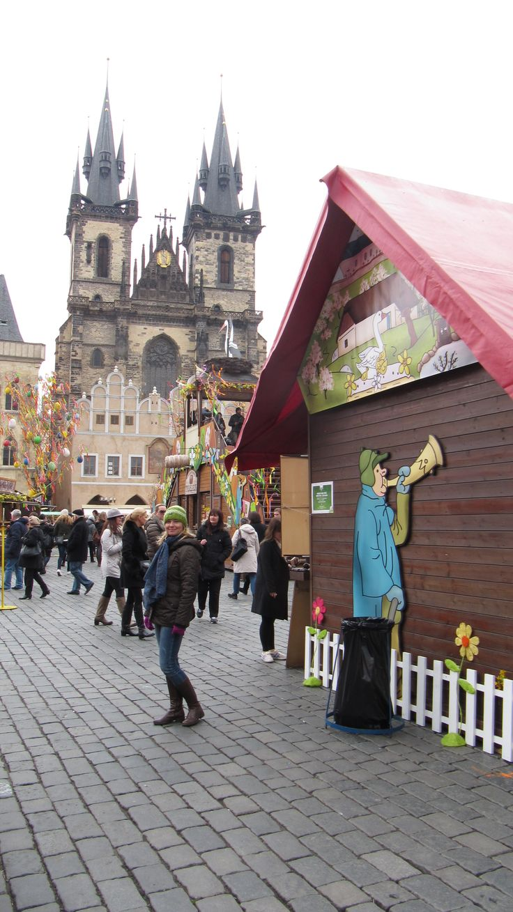 Easter at the Old Town Square!! Prague