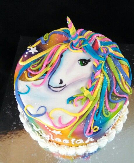 Lisa Frank Birthday Cake Ideas