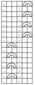 Ulla 02/08 - Ohjeet - Petäjä Het boogje betekent: haal 1 steek af, brei 1 steek, haal afgehaalde steek erover. Dan moet er nog een nieuwe steek gemaakt worden ter vervanging van de lus, maar dat is me niet duidelijk uit het fins hoe dat werkt. Experimenteren, dus. Vertaling gevonden op Ravelry!