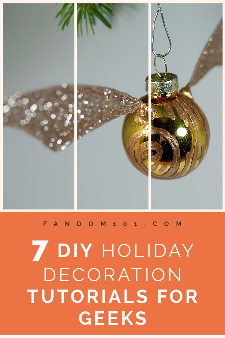 7 Geektastic DIY Christmas Decoration Tutorials to Add Some Geek to Your Holidays
