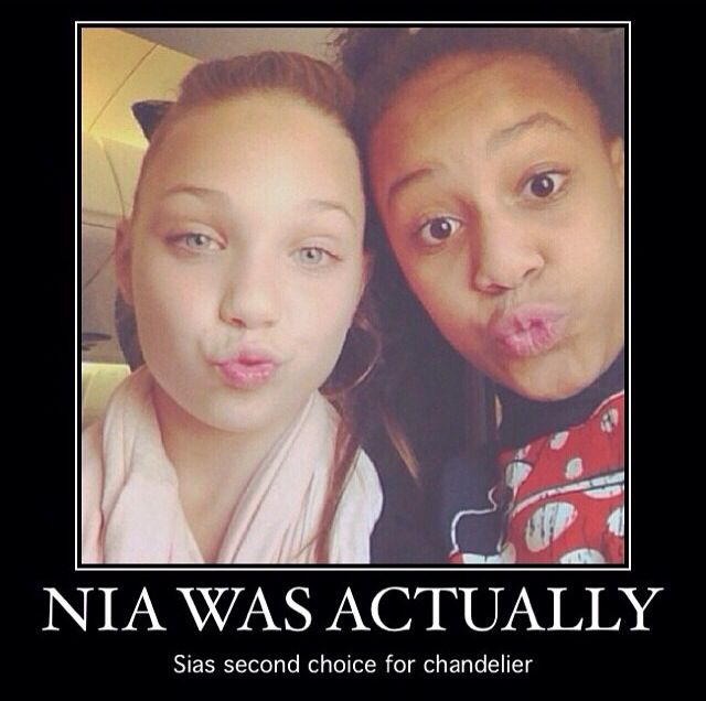 r u kidding me I like nia she is awesome she would of been just as good