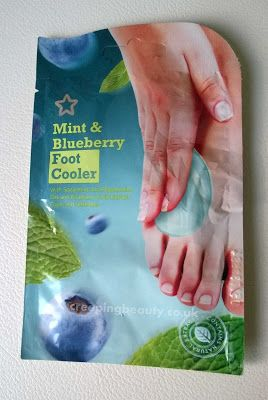 Creeping Beauty: Mint And Blueberry Foot Cooler