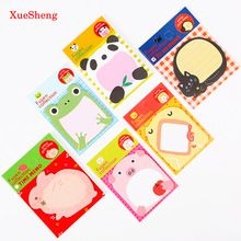 5 UNIDS Bosque Serie Animal Lindo Cojín de Nota de Papel de Escritorio Creativos Sticker Post Sticky Notes Bloc de Notas Oficina de La Escuela(China (Mainland))