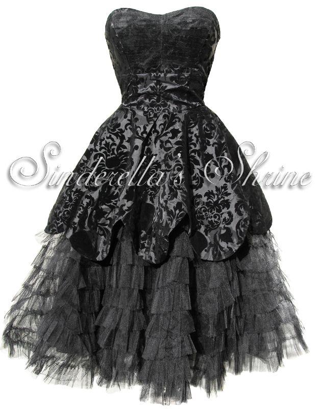 Gothic cocktail dress uk online