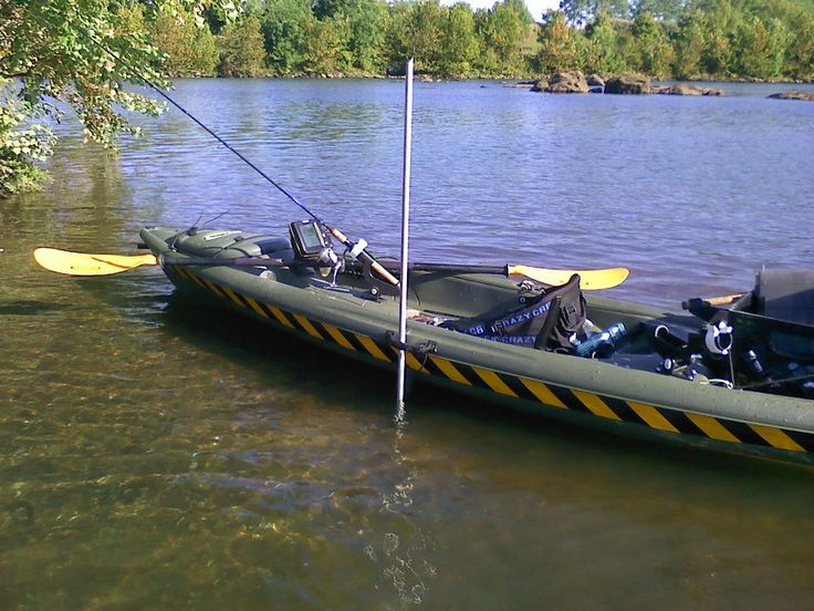 20 best kayak stake out poles images on pinterest for Kayak fishing pole