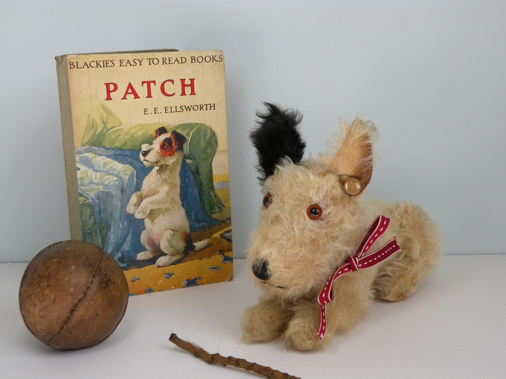 Patch a C1930's Chad Valley dog