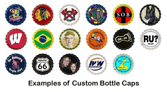 This listing is for a custom bottle cap made for your Flatlanders Rear View Mirror. Just send me an image or let me know what you would like such as your club logo or the name of your event. You can have the custom bottle cap made with almost anything on it. If your club has a